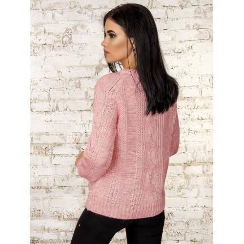 Джемпер50311(цвет-Светло Розовый)