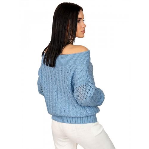Джемпер50410(цвет Голубой)