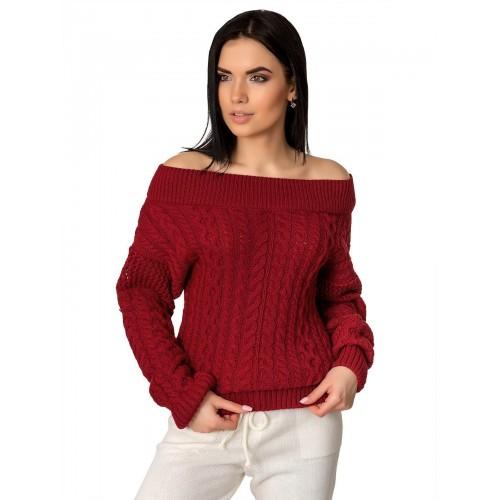 Джемпер50410(цвет Красный)