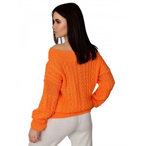 Джемпер50410(цвет Оранжевый)