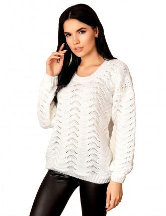 Джемпер 50508 (цвет Белый)