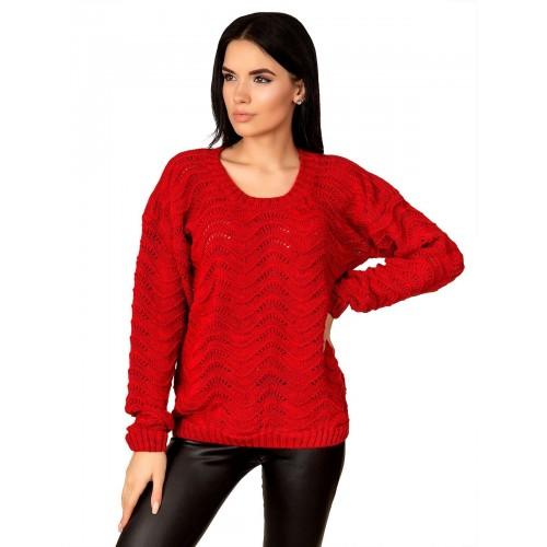 Джемпер 50508 (цвет Красный)