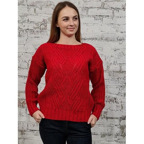 Джемпер 50536 цвет Красный