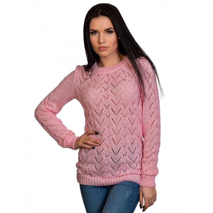 Джемпер№70221(розовый)