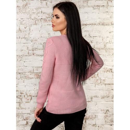 Джемпер70270(розовый)