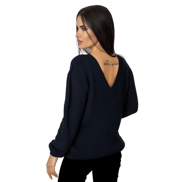 Джемпер70401(цвет Темный Синий)