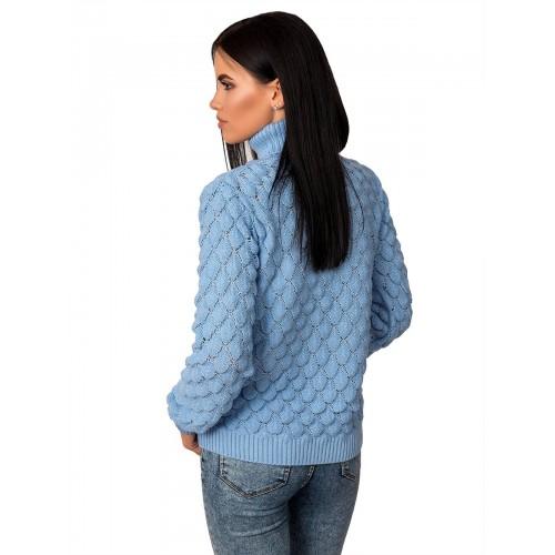 Джемпер70454(цвет Голубой)