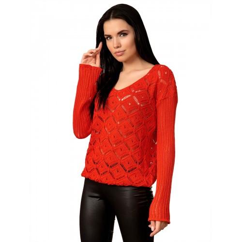 Джемпер 70513 (цвет Красный)