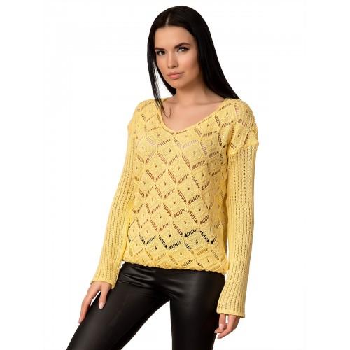 Джемпер 70513 (цвет Желтый)