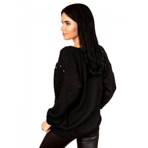 Джемпер 70514(цвет Черный)
