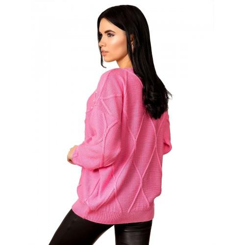 Джемпер 70514(цвет Розовый)