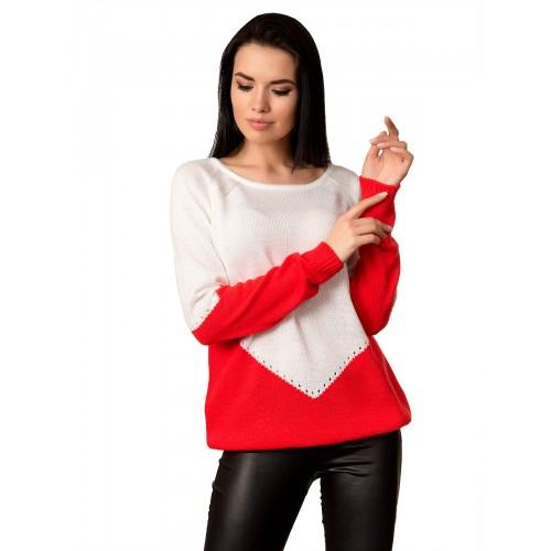 Джемпер 70518 (цвет Красный)