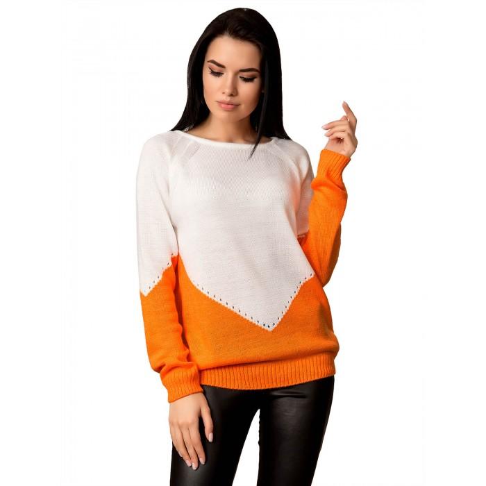 Джемпер 70518 (цвет Оранж)
