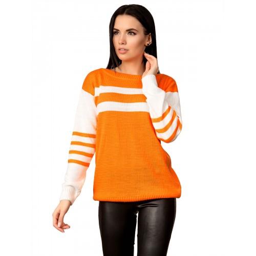 Джемпер 70521 (цвет Оранж)