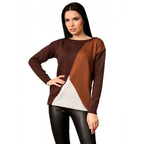 Джемпер 70524 (цвет Шоколадный)