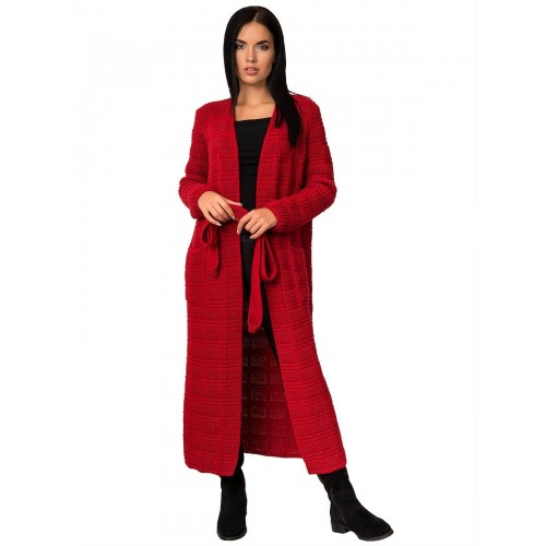 Кардиган50464(цвет Красный)