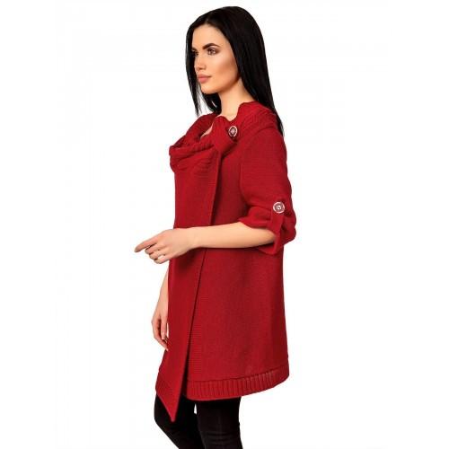 Кардиган5073(цвет Красный)