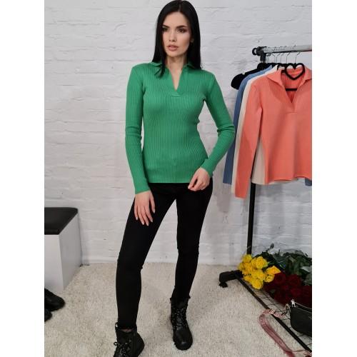Кофта 12574 цвет Зеленый