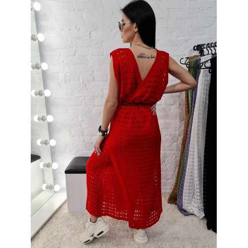 Сарафан 1002 цвет Красный