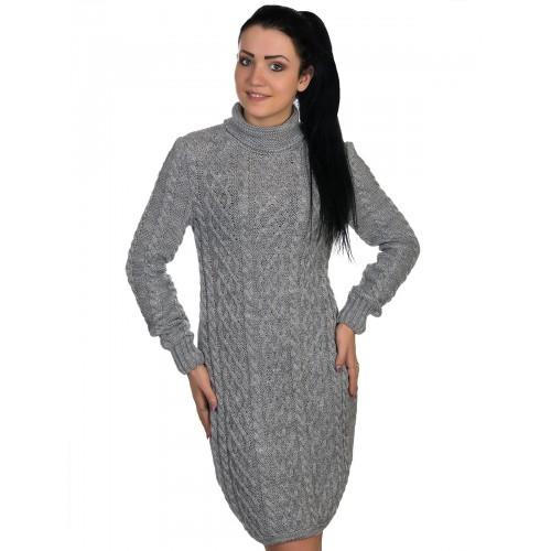 Платье50103/003(серый)
