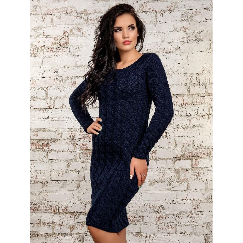 Платье50247(темно-синий) PLV