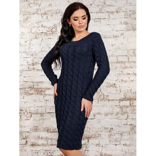 Платье50247(темный-джинс)