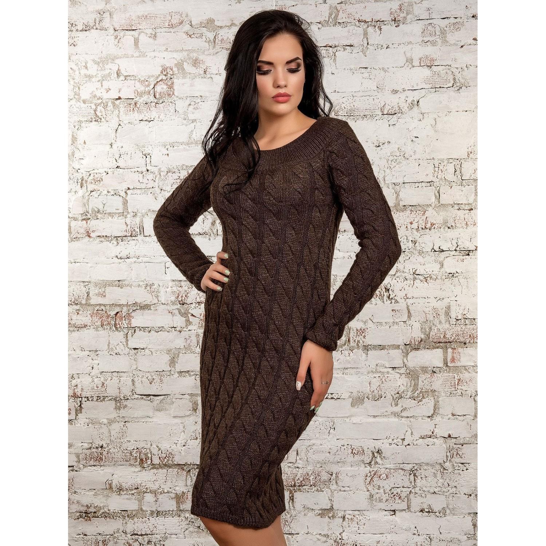 Платье50247(кофе) PLV
