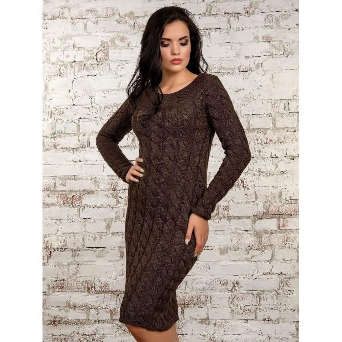 Платье50247(кофе)
