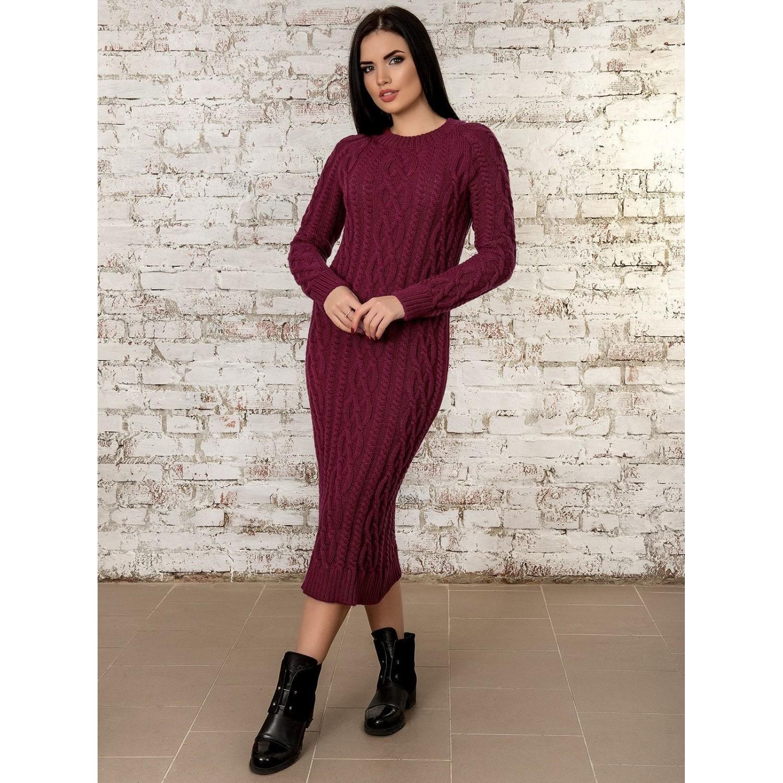 Платье50277(бордовый) PLV