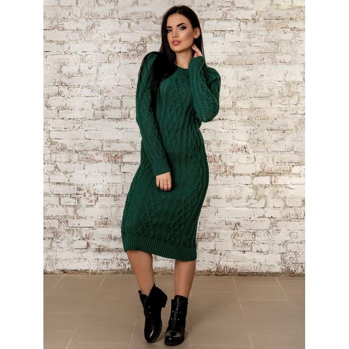 Платье50277(зеленый)