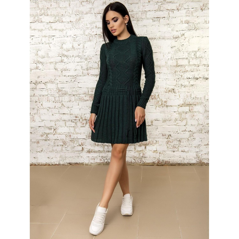 Платье50278(Темно-Зеленый) PLV