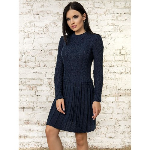 Платье50278(Темно-Синий)