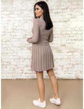 Платье50278(Светлая-Пудра)