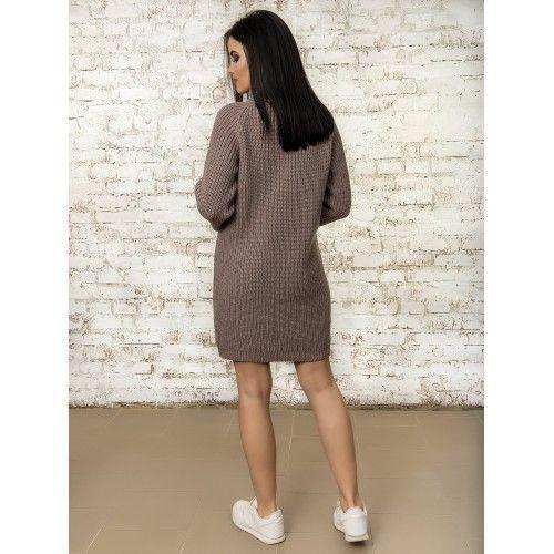 Платье50283(цвет Темная Пудра)