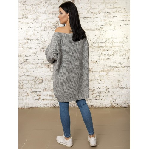 Платье 50293 (цвет Серый)