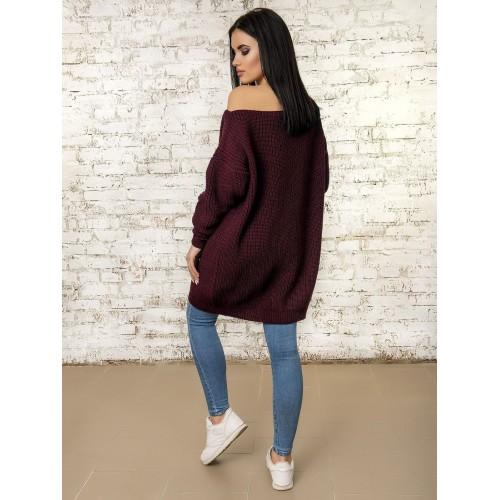 Платье 50293 (цвет Бордовый)
