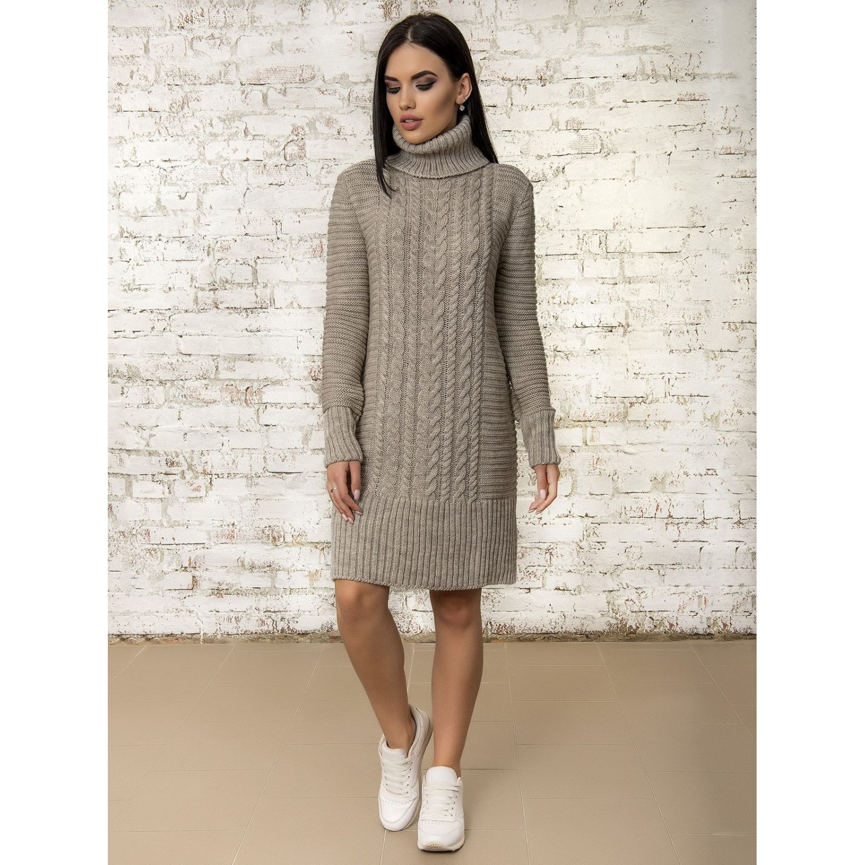 Платье 50295 (цвет Бежевый) PLV