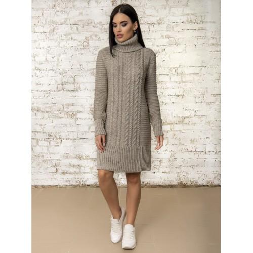 Платье 50295 (цвет Бежевый)