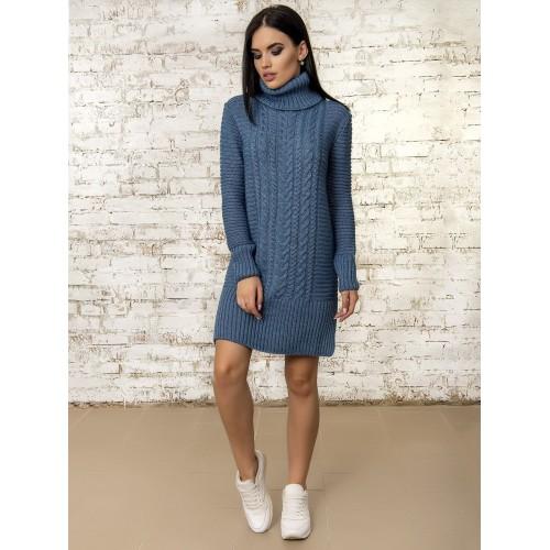 Платье 50295 (цвет Светлый Джинс)