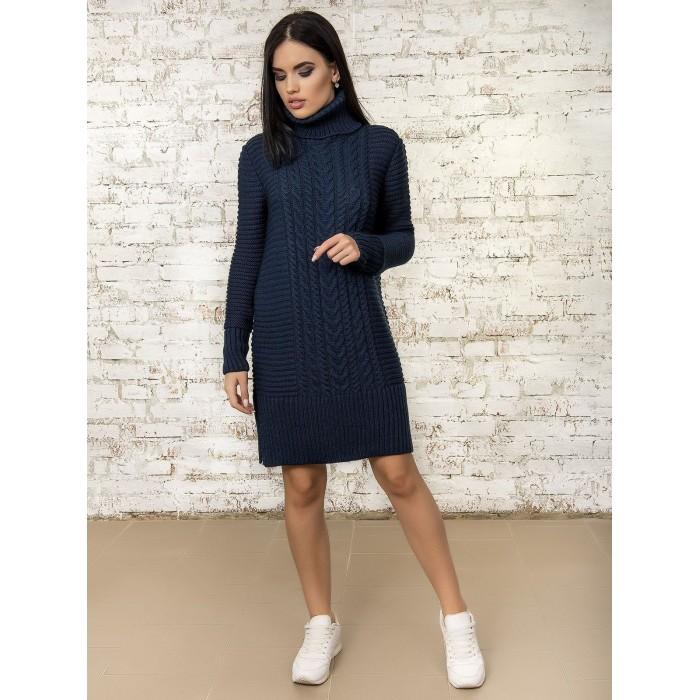 Платье 50295 (цвет Темно Синий)