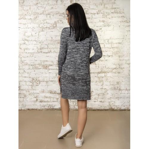 Платье50303(цвет Графит-Меланж)