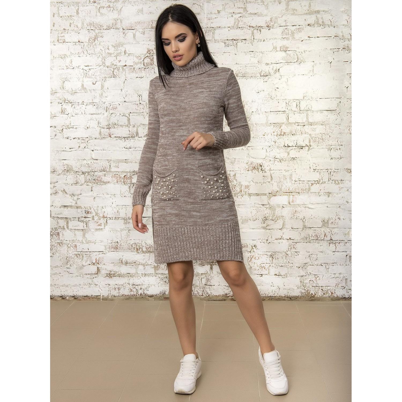 Платье50303(цвет Мокко-Меланж) PLV
