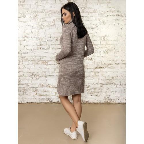 Платье50303(цвет Мокко-Меланж)
