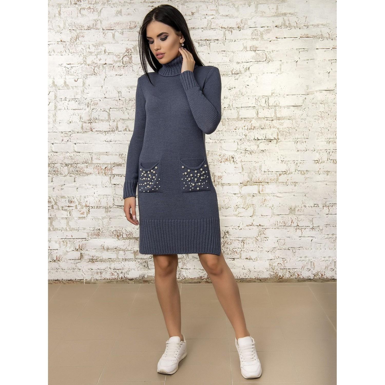 Платье50303(цвет Джинс) PLV
