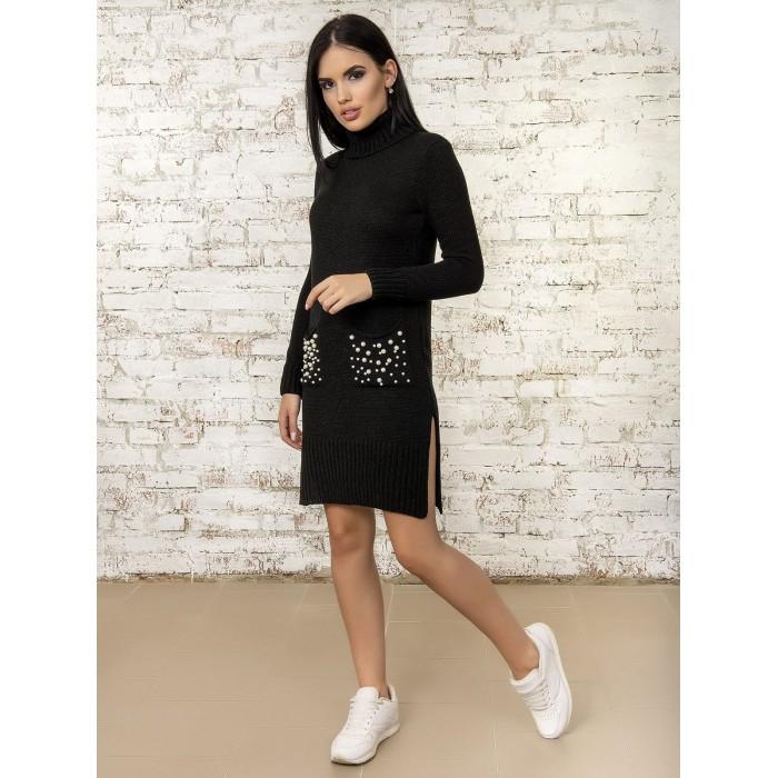 Платье50303(цвет Черный)