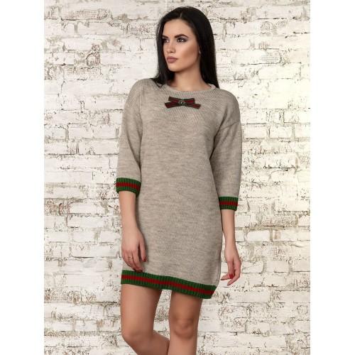 Платье (бежевый) 70289
