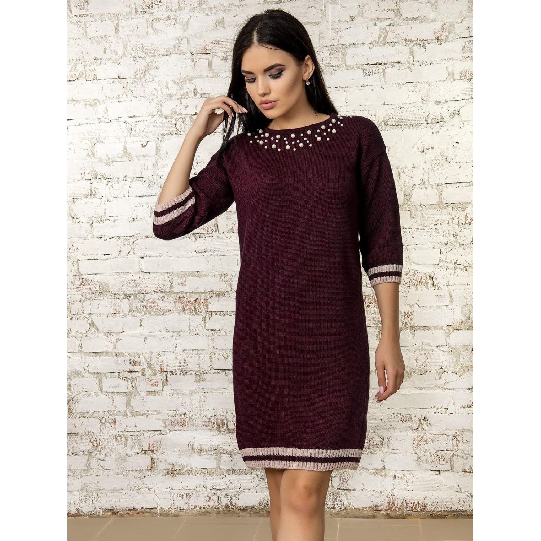 Платье70315(цвет Бордовый) PLV