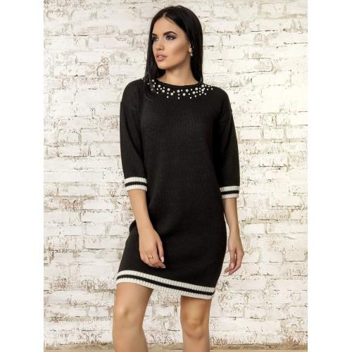 Платье70315(цвет Черный)