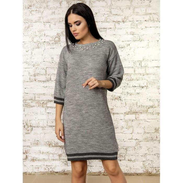 Платье70315(цвет Серый)