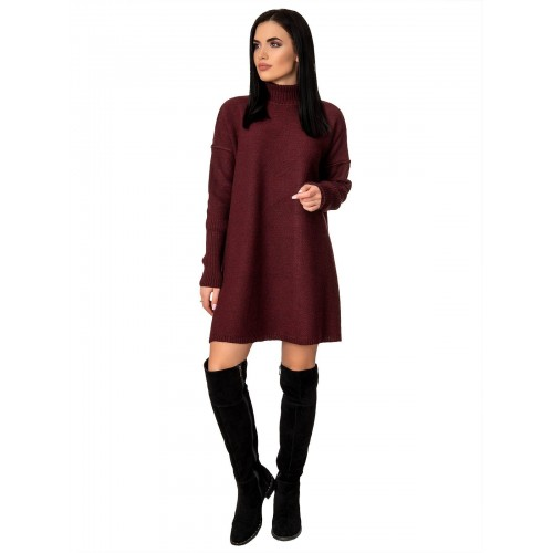 Платье70425(цвет Бордовый)